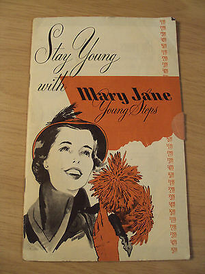 "RARE ca 1950's SHOE Catalog~""MARY JANE Young Steps""~Order Form~BOSTON~"