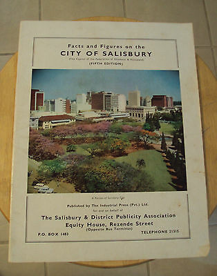"RARE ca. 1962 Facts and Figures~""Salisbury RHODESIA""~British~Nyasaland~LETTER~"