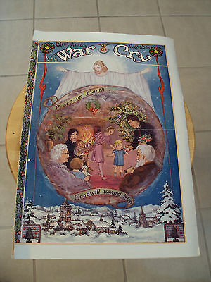 "Special 1932 CHRISTMAS Edition Newspaper~""THE WAR CRY""~Salvation Army~Ephemera~"