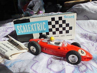 Tri-ang Scalextric Ferrari MM/C62 Sharknose