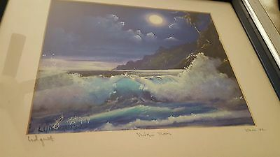Lundquist Signed Art 76/999 Kauai 102 Moon