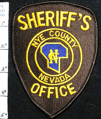 Nevada, Nye County Sheriff's Office Brown Patch