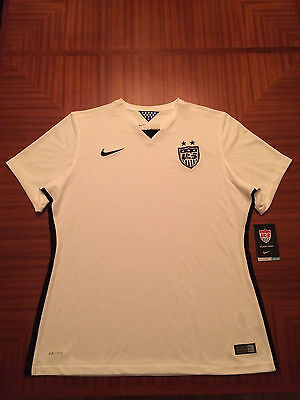 NIKE Soccer USA Womens Team Jersey Home White Small NWT MSRP $90.00