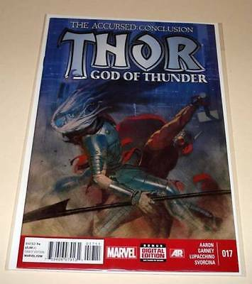 THOR : GOD OF THUNDER # 17 Marvel Comic March 2014 NM