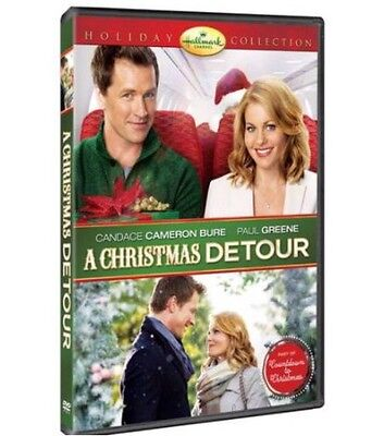 A Christmas Detour Dvd - Single Disc Edition - New Unopened - Hallmark