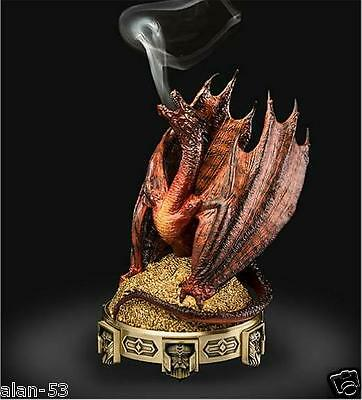 Tolkien ~ The Hobbit Smaug Incense Burner ~ New In Box