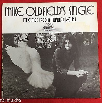 """MIKE OLDFIELD -Single (theme From Tubular BellS)- Rare UK 7"""" with Picture Sleeve"""
