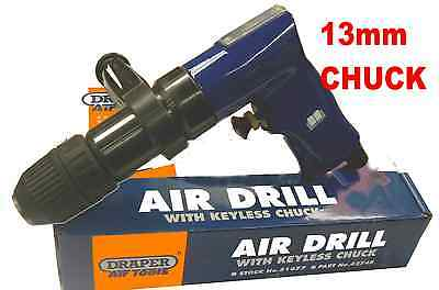DRAPER AIR DRILL - MODEL 51677 - KEYLESS CHUCK 13mm - LAST ONE !!