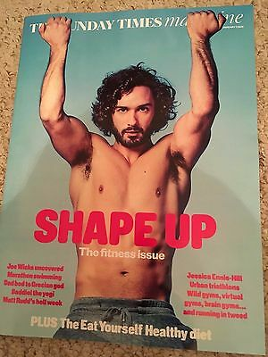 Joe Wicks The Sunday Times UK Cover Magazine - Exclusive Interview Jessica Ennis