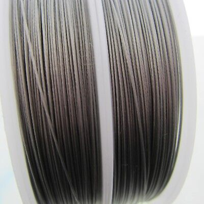 .38mm Tigertail Wire Stainless Steel 7 Strand Nylon Coated Steel Beading Wire
