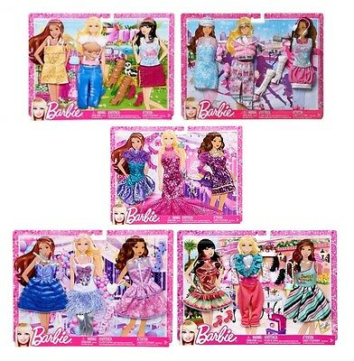 Mattel Barbie Fashionistas Barbie Doll Clothes Fashion Dress Outfits My Fab Life