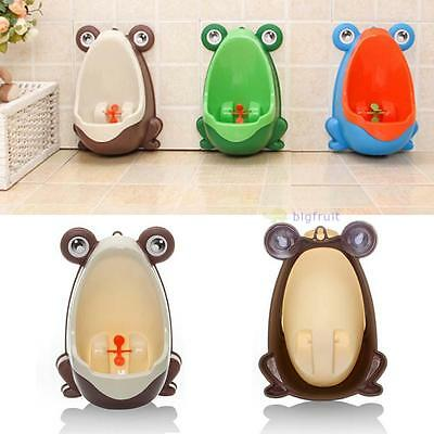 Frog Kids Childrens Baby Toddlers Toilet Training Potty Seat Trainer Bathroom BF