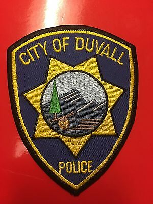 Duvall Washington   Police Shoulder Patch