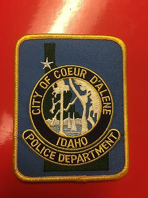 Coeur D' Alene Idaho  Police Shoulder  Patch
