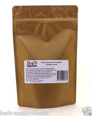 Glucomannan Konjac Root Powder 8oz 1/2lb, Weight Loss, Herb Supply House Unisex