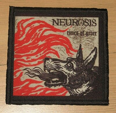 "NEUROSIS ""TIMES OF GRACE"" silk screen PATCH"