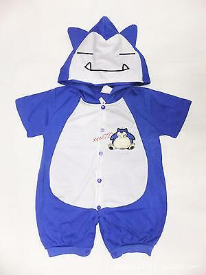 JUMBO SNORLAX Baby Boys One-piece Baby Summer Clothes Bodysuit 0-24 Months New