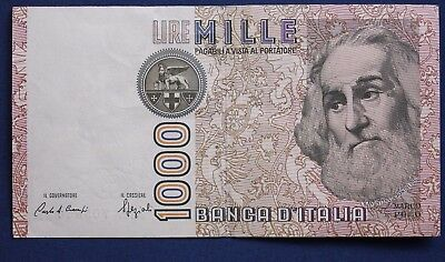 1982 Italy 1000 Lire Banknote [8161]