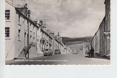 Early 1960's view of High Street, Gatehouse of Fleet, Kirkcudbrightshire