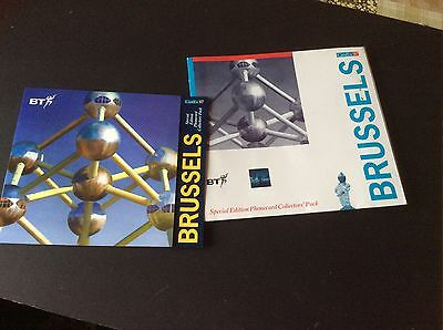 Special Edition Bt Phonecard Collectors Pack - Brussels Cardex 97 - Mint