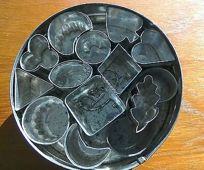 Tala vintage canape cutters in a tin