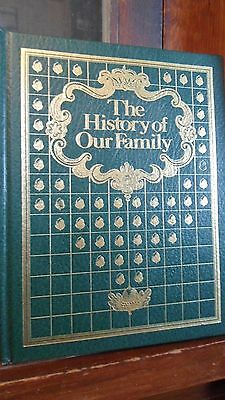 History of Our Family (1978, Hardcover) UNUSED NO WRITING GREAT GIFT TO FAMILY