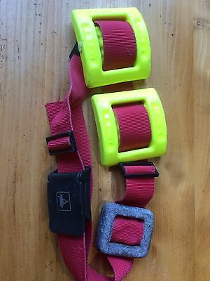 Divers Weight Belt 4.8Kg Diving weights Coated yellow Brighton BN1 more availabl