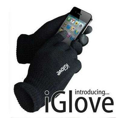 iGloves Fashion One Pair Unisex Touch Screen Kniting Cotton Winter Warm Gloves