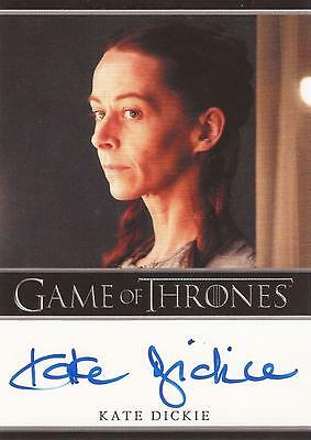 "Game of Thrones Season 2 - Kate Dickie ""Lysa Arryn"" Autograph Card"