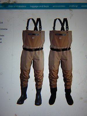 Scierra Cc3 Xp Chest Waders Stocking Foot Size L Brand New Xmas Bargains .