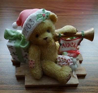 """Cherished Teddies """"Gerard"""" Welcome All The Sounds Of The Season - MINT"""