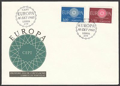 Portugal, 1960 Europa CEPT Illustrated FDC. Lisbon Special H/S
