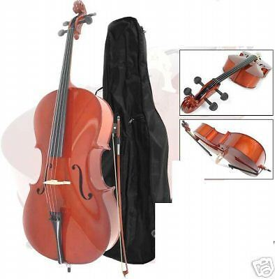 New 4/4 Cello including Bow and bag