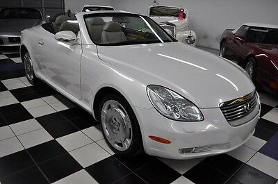 2002 Lexus SC SC430 CONVERTIBLE - LOW MILES - SHOWROOM CONDITION AMAZING CONDITION - LOW MILES - NICEST COLORS -