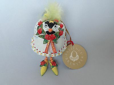 "Patience Brewster Christmas Ornament ""Krinkles Chick a Dee Dee"""