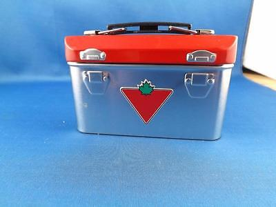 Canadian Tire Store Novelty Metal Toy Tool Box Playskool Tools Hammer Saw Level