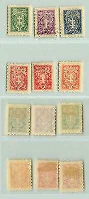 Lithuania, 1929, SC 233-240, mint or used. f987