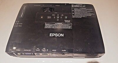 Epson PowerLite 1761W LCD Projector - Used - See Description