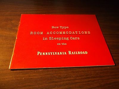 May 1948 Prr Pennsylvania Railroad Large Format Accommodations Guide