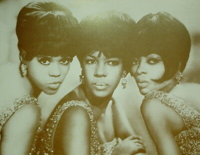 "The Supremes Poster Print - Diana Ross - Motown - 11""x14"" Sepia"