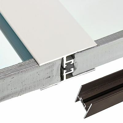 24/25mm Muntin Bar Glass Joint Strip Glazing Connector 2.1M Conservatory Roof