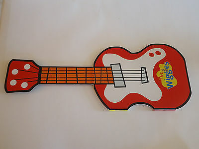 THE WIGGLES Play Your Guitar with Murry Cardboard Book 2004 Movie Tv Dvd Toy