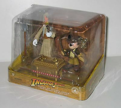 2011 Disney Parks Exclusive Indiana Jones Mickey Mouse Goofy MISB!