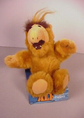 Vintage 1987 ALF finger puppet toy alien TV show toy  MIB Coleco
