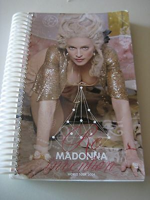 Madonna 2004 Confessions Tour Itinerary Spiral Book 100 pgs ~Rare~