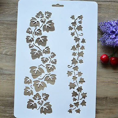 Layering Stencils DIY  Painting Scrapbooking Decor Embossing Paper Cards Craft