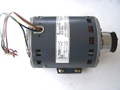 GE 115V 2.4 amp 1/12 HP 1725 RPM. Electric Motor Used