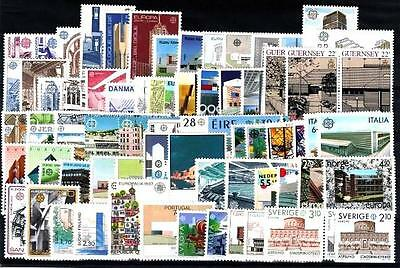 Cept Europa 1987 ** annata completa MNH beautiful and complete collection 152,00