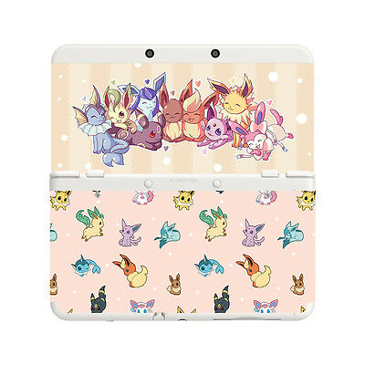Custom Printed Pokemon Eeveelutions New Nintendo 3DS Faceplate Pair Cover Plates