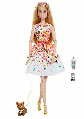 2016  Barbie The Look Park Pretty Blonde IN STOCK